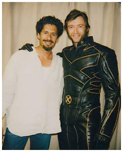 Jose and Wolverine
