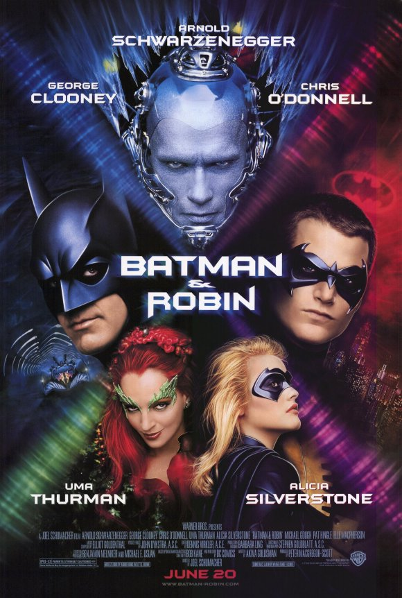 Batman and robin movie poster 1997 1