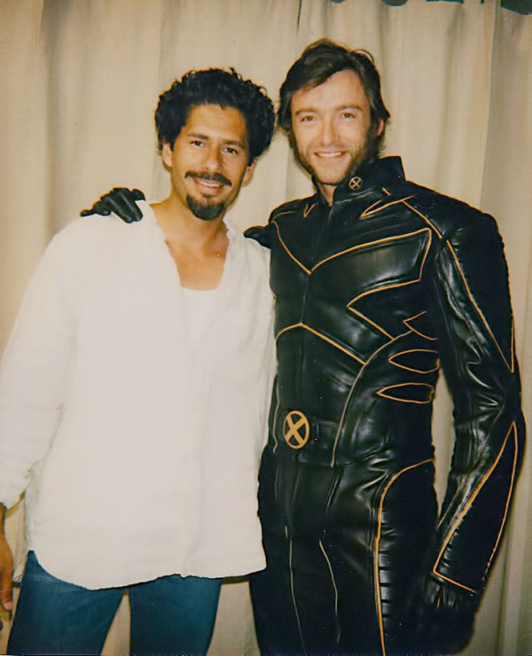 Jose and Hugh Jackman